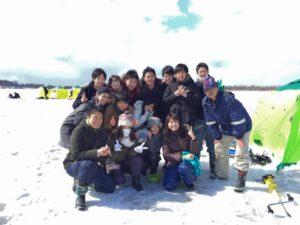 札幌ワカサギ釣り2
